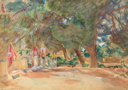 Sargent, John Singer: A War Memorial. Fine Art Print/Poster. Sizes: A4/A3/A2/A1 (002379)